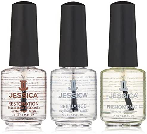 Jessica Brittle Nails Kit, 3 ct.
