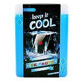 OICEPACK Ice Packs,Cool Packs for Cooler,Ice Pack for Lunch Box,Ice Packs for Cooler,Slim Reusable Cooler Ice Pack Long Lasting Freezer Ice Packs,Gel Cool Pack Medium Poker Design Set of 4