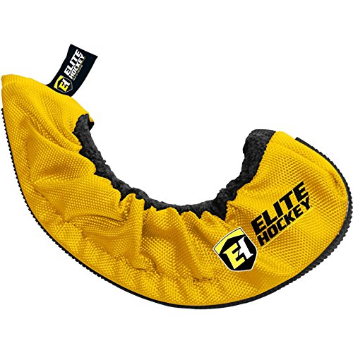 (Elite Hockey Pro-Skate Guard (Yellow, SR/XL))