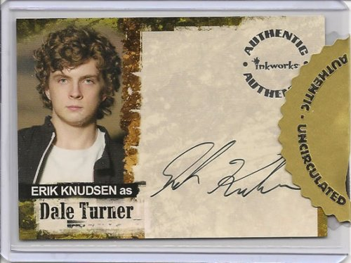 Jericho Erik Knudsen as Dale Turner Autograph Trading Card (Erik Turner)