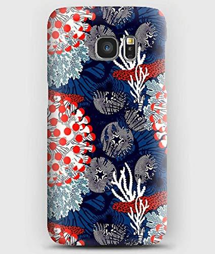 marimekko, coque pour Samsung S5, S6, S7, S8, S9, A3, A5, A7,A8, J3, J5, Note 4, 5, 8,9,Grand prime,