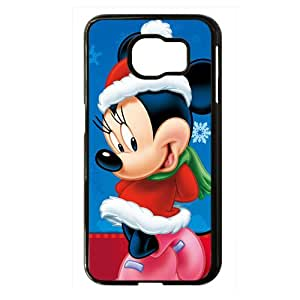 Mickey Mouse Black Phone Case for Samsung S6