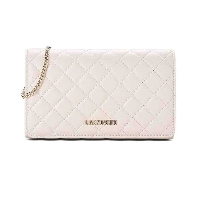 LOVE MOSCHINO BORSA NAPPA QUILTED PU AVORIO JC4100PP15LP0110  Amazon ... eac765a8fcd