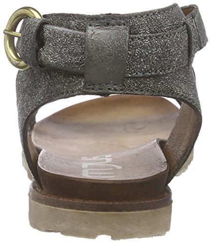 Mjus 255019-0201-6354 - Sandalias de tobillo Mujer Plateado - Silber (Inox)