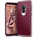 Caseology [Parallax Series] Galaxy S9 Plus Case - [Award Winning Design] - Burgundy/Rose Gold