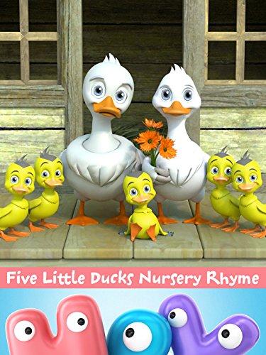 Five Little Ducks (Five Little Ducks Nursery Rhyme)
