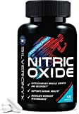Nitric Oxide Supplement Extra Strength L Arginine 1300mg – Citrulline Malate, AAKG, Beta Alanine – Premium Muscle Building NO Booster for Strength, Vascularity & Energy to Train Harder – 120 Capsules