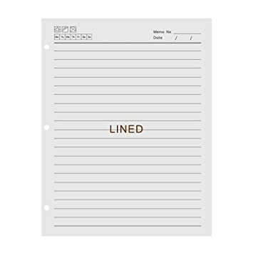 Office /& Home-RPAD//3 A4 Ruled Refill Pad 140 white Ruled Pages Ideal for School