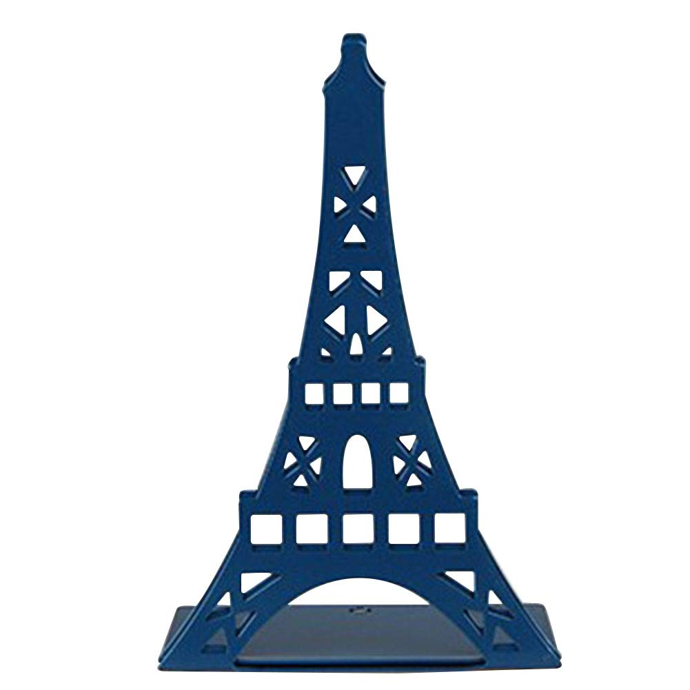 Etbotu 1 paar Mode Eiffelturm Design Bücherregal Große Metall Buchstütze Schreibtisch Halter Ständer