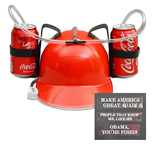 Donald Trump – Make America Great Again – Drinking Hat by Squirrel Products