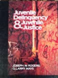 Juvenile Delinquency and Juvenile Justice, Joseph W. Rogers and G. Larry Mays, 0471819158