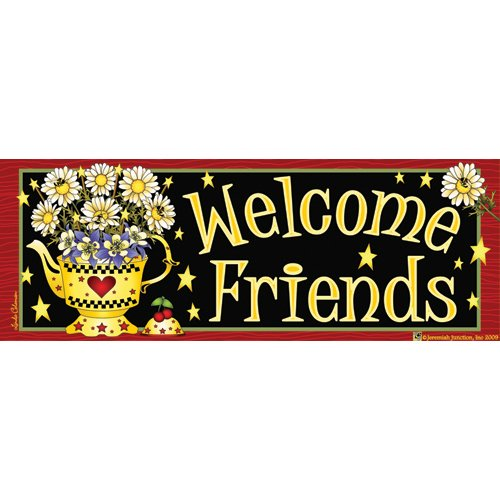 Teapot Welcome Art-Snaps!® Magnetic Mailbox Art