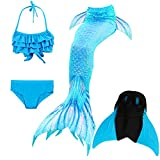 Das beste Girls Mermaid Tail Swimsuit with Monofin