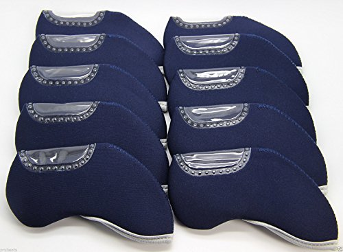 10pc set Generic Blue Neoprene Iron ()