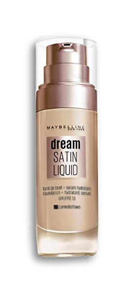 25f5fed21ce Maybelline New York Fond de Teint Dream Satin Liquid FPS13 - 40 Cannelle 30  ml