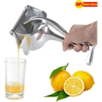 Stainless Steel Manual Hand Juicer Fruit Presser Heavy Duty Single Press Lemon Orange Citrus Juicer Squeezer