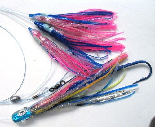 Bullet Lure (Tuna Bullet Daisy Chain: Mahi Magician Fishing Lure for All Tuna Mahi Wahoo Marlin )
