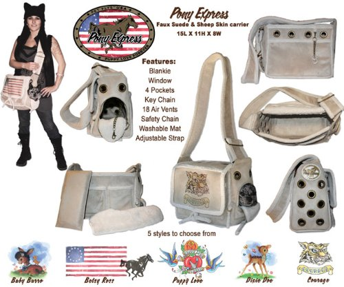 Pet Flys Pony Express Carrier - Courage