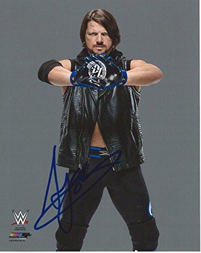 aj-styles-signed-wwe-photofile-8x10-photo-aj-autographed-wrestling-photos