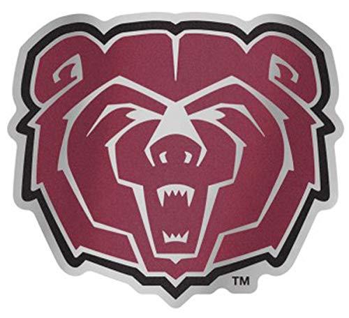 WinCraft NCAA Louisiana State University LSU Tigers 4.85 x 3.5 Inch Plastic Auto Badge Sticker Decal
