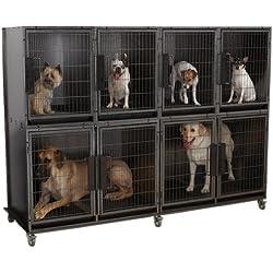 Pro Select Modular Kennel Cage Bank Kit, 6-Units