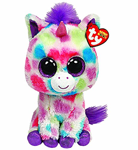 Ty - Peluche unicornio, 15 cm, (United Labels 36082TY): TY UK 6-inch Wishful Beanie Boo Plush: Amazon.es: Juguetes y juegos