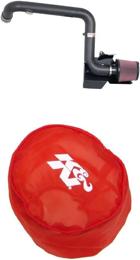 K/&N 69-9503TFK Washable and Reusable Car Performance Intake Kit Red