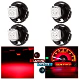 """cciyu T4.7 Neo Wedge LED Light A/C Climate Control Lights12mm Bright T5 with1.25"""""""