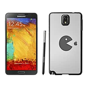 Beautiful And Unique Designed Case For Samsung Galaxy Note 3 N900A N900V N900P N900T With pacman food apple Phone Case