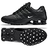 Cheap Nike Men's Shox NZ Running Shoe Black/White-black – 15 D(M) US