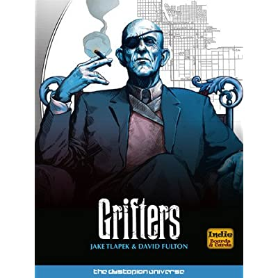 Indie Boards & Cards Grifters (A Dystopian Universe Game): Toys & Games