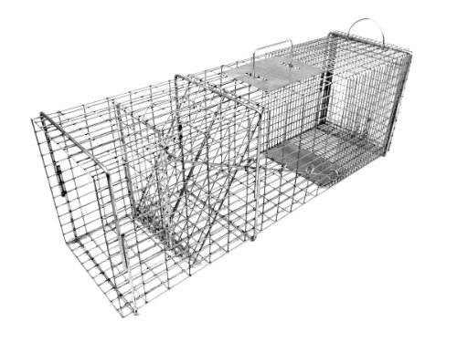 Tomahawk Original Series Rigid Flush Mount Trap with Easy Release Door for Racoons/Groundhogs/Feral (Hog Trap Doors)
