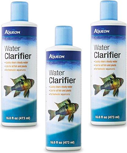 Aqueon Water Clarifier - 16 Ounce (3 Pack) - Freshwater Water