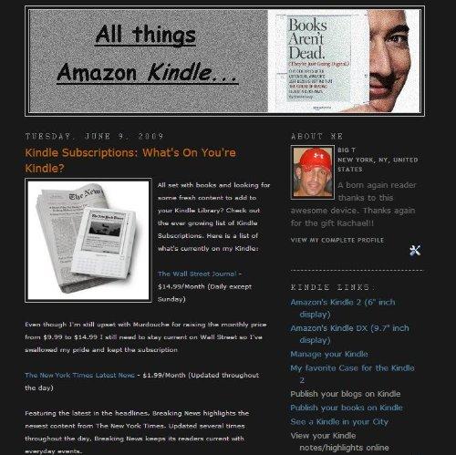 All Things Amazon Kindle...