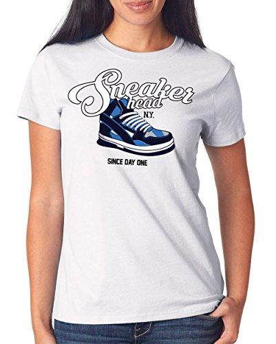 Sneaker Head T-Shirt Girls White Certified Freak