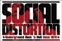 Licenses Products Social Distortion Logo Magnet
