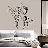 devil and angel girl sticker - Wall Stickers Vinyl Decal Hot Sexy Girl Teen Devil And Angel Good And Bad Decor (z1934i) (M 22.5 in X 25 in, Black)