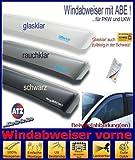 ClimAir Windabweiser vorne (mit ABE) 03-3862D, Farbausführung: schwarz