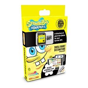 Spot it Out Nickelodeon SpongeBob Swell Family Destinations for Garmin nüvi/zumo/StreetPilot U.S. Street Map microSD Card