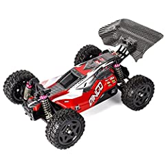 Remo Hobbies Dingo 1/16 Off Road RC Buggy 2.4Ghz 4WD High Speed Brushed Remote Control Car Red