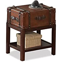 Suitcase Chair Side Table