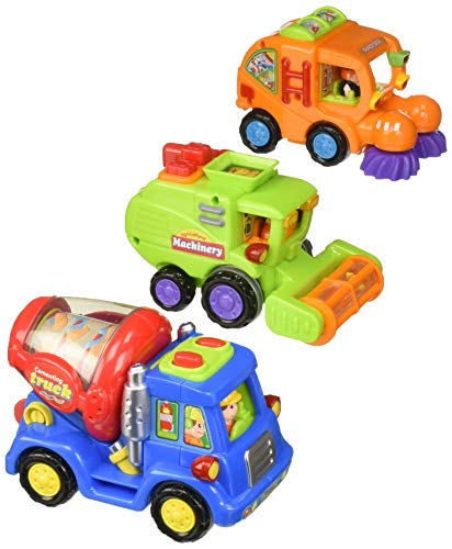 Click N' Play Push & Go Cartoon Friction Powered Car for sale  Delivered anywhere in USA