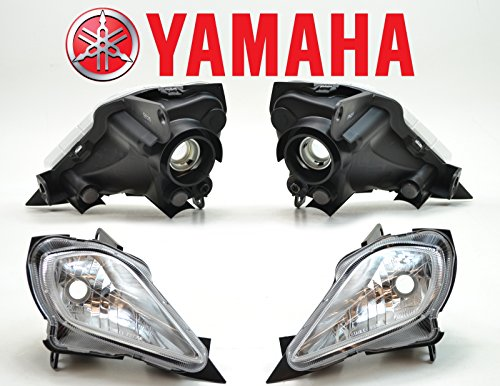 Yamaha Raptor 700, 350, YFZ 450, YFZ450, Wolverine Right/Left Headlight ()