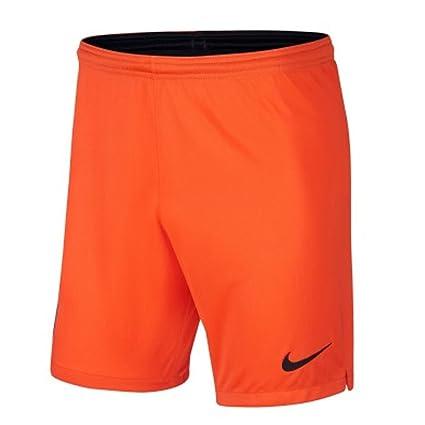 Amazon.com   Nike 2018-2019 Man City Home Goalkeeper Shorts (Orange ... e9c93832f