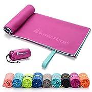 meteor Sport tücher handtücher L XL XXL Größen 9 Farben Ultra leicht Microfaser Handtuch Ultra saugfähig Fitnes-Handtuch…