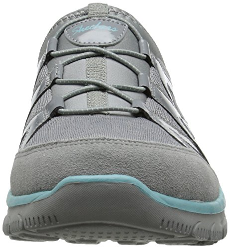 Skechers Frauen Easy Going Repute Mule Grau
