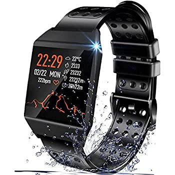 Amazon.com: Beaulyn Smart Watches,Touch Screen Sport Wrist ...