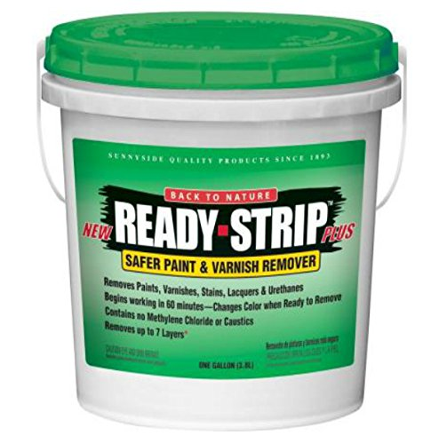 Ready-Strip Plus 1 Gallon Paint and Varnish Remover Semi-Paste [Set of 4] ()