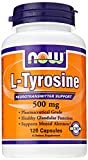 NOW L-Tyrosine 500 mg,120 Capsules