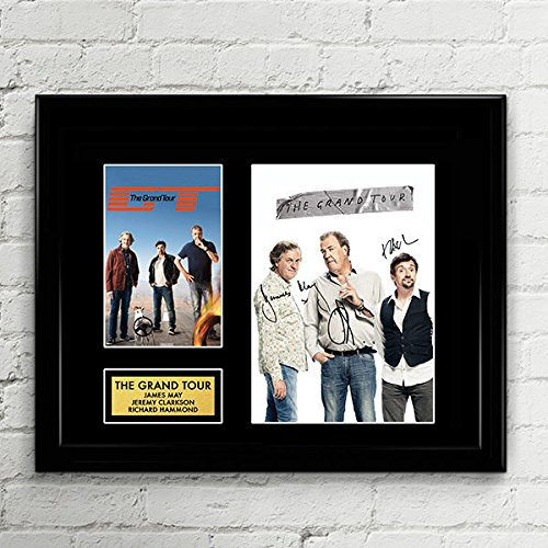 - The Grand Tour Clarkson Hammond May Signed Autographed Photo Mat Custom Framed 11 x 14 Replica Reprint Rp
